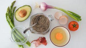 Meal prep ingredients