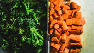 Vegetable meal prep