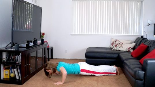 abs exercise push-ups