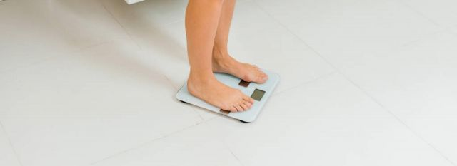 scared to step on the scale