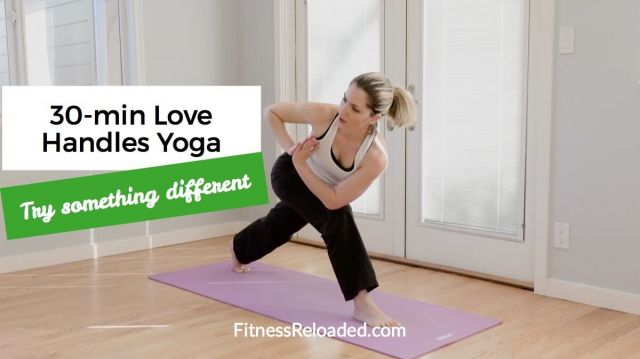Love Handles Workout at home Yoga for love handles