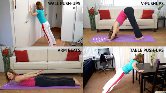 top exercises for arms and back for lazy people