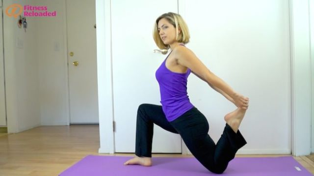 One of the three best hip flexor stretch variations