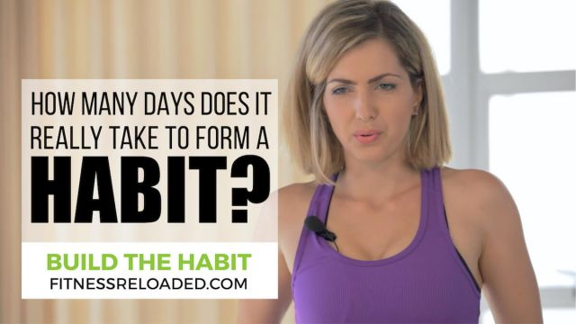 how many days does it take to form a habit