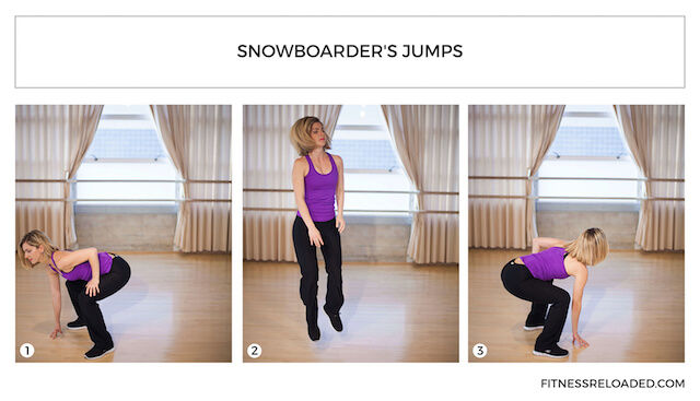 snowboarder's squats