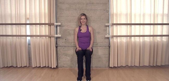wall squat isometric exercises