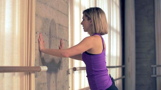 wall push up start