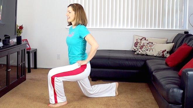 jumping lunges, one of the best exercises for legs