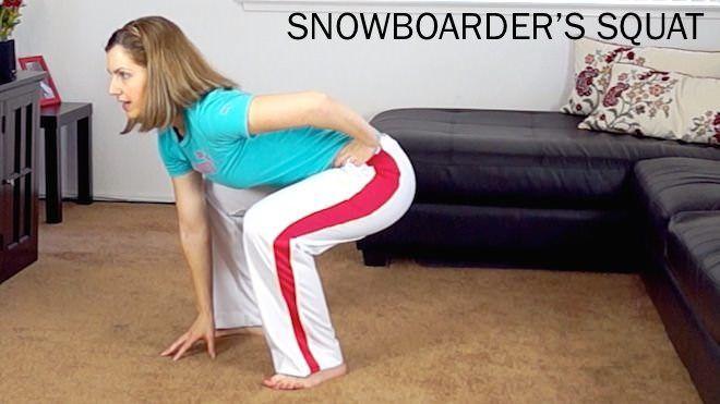 Snowboarder's Jump