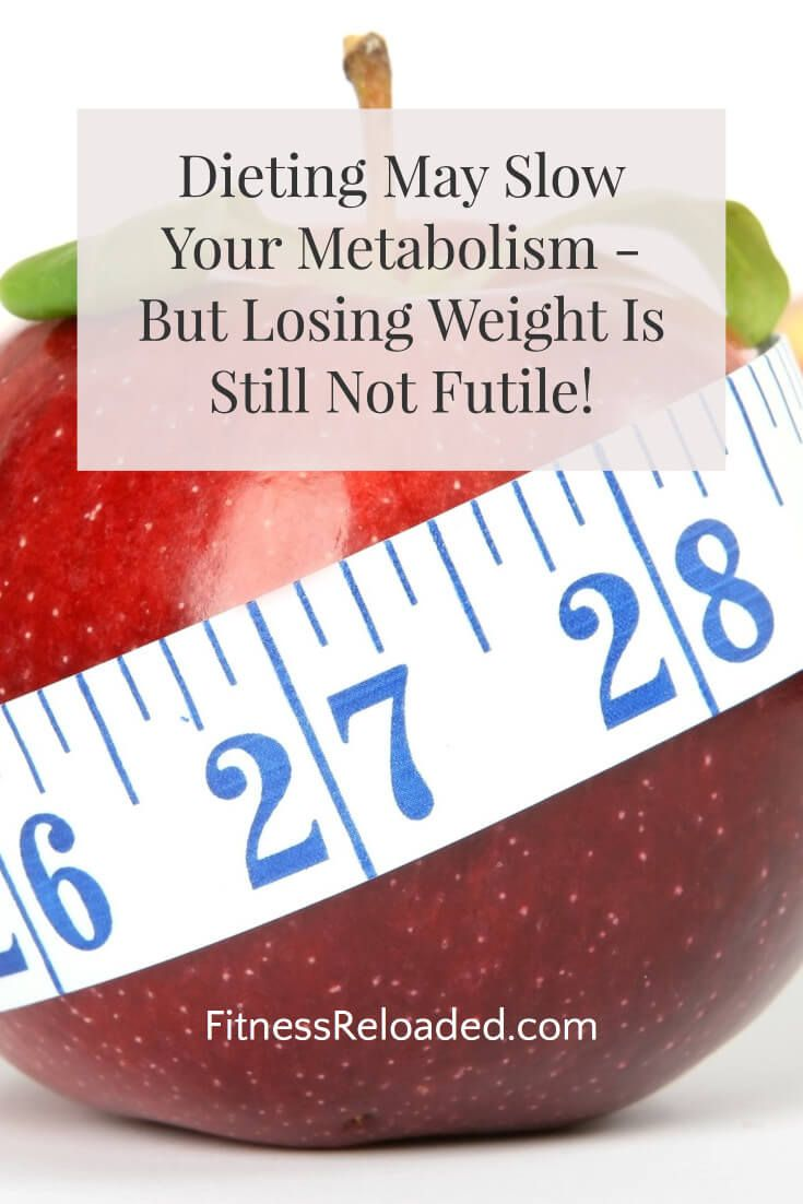 resting metabolic rate and weight loss