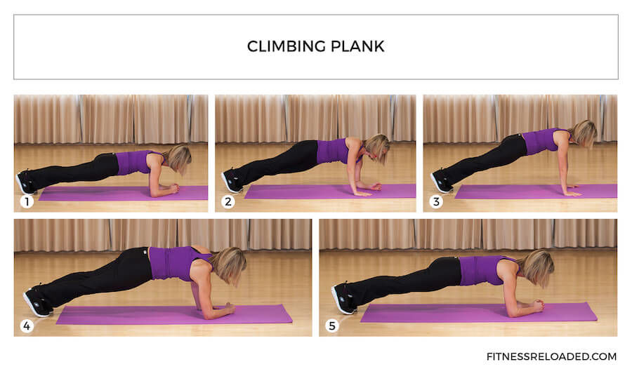 climbing plank